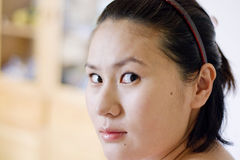 Portrait of chinese woman Stock Photography