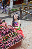 Portrait of a Chinese woman Royalty Free Stock Photo