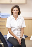 Portrait of chirpodist in clinic Stock Photography
