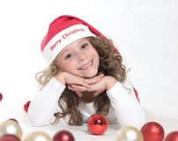 Portrait of Christmas Royalty Free Stock Photo