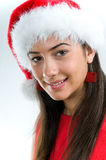 Portrait of Christmas girl Royalty Free Stock Image