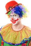 Portrait of a clown Royalty Free Stock Image