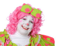 Portrait of Clown Stock Image