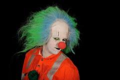 Portrait of clown Stock Images