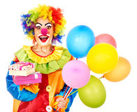 Portrait of clown. Royalty Free Stock Photos