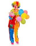 Portrait of clown. Stock Photo