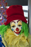 Portrait of a clown Stock Images