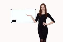 Portrait of coaching woman Stock Image