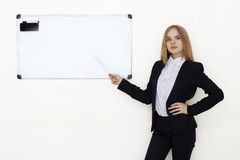 Portrait of coaching woman Royalty Free Stock Photography