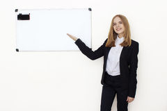 Portrait of coaching woman Royalty Free Stock Images