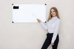 Portrait of coaching woman Royalty Free Stock Photo