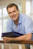 Portrait of college professor in university Royalty Free Stock Images