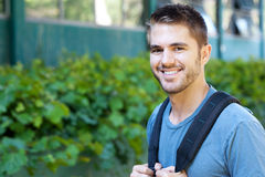 Portrait of a college student Stock Photography