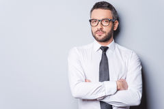 Portrait of confidence and success. Royalty Free Stock Photos