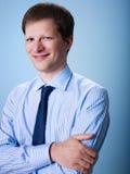Portrait of confident adult businessman Stock Images