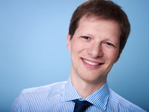 Portrait of confident adult businessman Royalty Free Stock Images