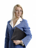 Portrait of a confident attractive business woman Stock Photos