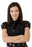 Portrait of confident attractive woman Royalty Free Stock Photo