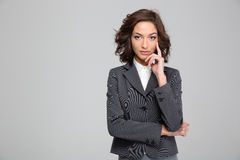 Portrait of confident beautiful business woman Stock Photography