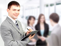 Portrait of confident business Royalty Free Stock Photos