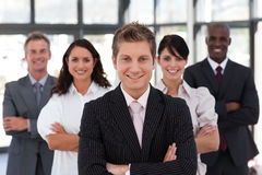 Portrait of a confident business leader Stock Photography