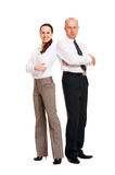 Portrait of confident business people Royalty Free Stock Photography