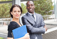 Portrait of confident business people Stock Photos