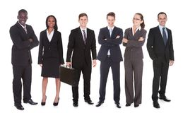 Portrait of confident business team Royalty Free Stock Photography