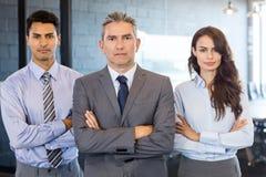 Portrait of confident business team Stock Photography