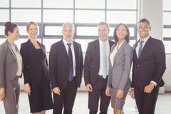Portrait of confident business team Stock Photo