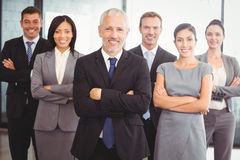 Portrait of confident business team Royalty Free Stock Photos