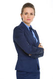 Portrait of confident business woman Royalty Free Stock Photos