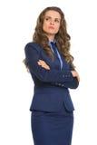 Portrait of confident business woman Stock Photography