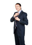 Portrait of a confident businessman Royalty Free Stock Photos