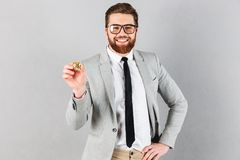 Portrait of a confident businessman dressed in suit Stock Photography