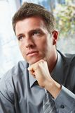 Confident businessman portrait Stock Image