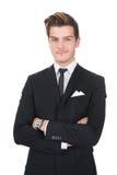 Portrait of confident businessman Royalty Free Stock Images