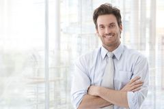 Portrait of confident businessman Royalty Free Stock Images