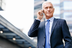 Portrait of confident businessman outdoors Royalty Free Stock Image