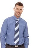 Portrait of confident businessman smiling Stock Photos