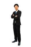 Portrait of a confident businessman stock photo