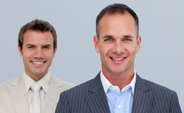 Portrait of confident businessmen with folded arms Royalty Free Stock Image