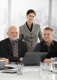 Portrait of confident businessteam Stock Photography