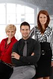 Portrait of confident businessteam Royalty Free Stock Image