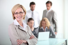 Portrait of a confident businesswoman Royalty Free Stock Photography