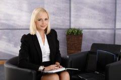 Portrait of confident businesswoman Stock Photography
