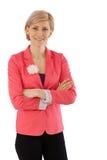 Portrait of confident businesswoman Stock Photos