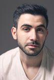 Portrait of confident caucasian male Royalty Free Stock Image