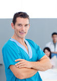Portrait of a confident doctor Royalty Free Stock Image