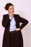 Portrait of confident female boss Royalty Free Stock Images